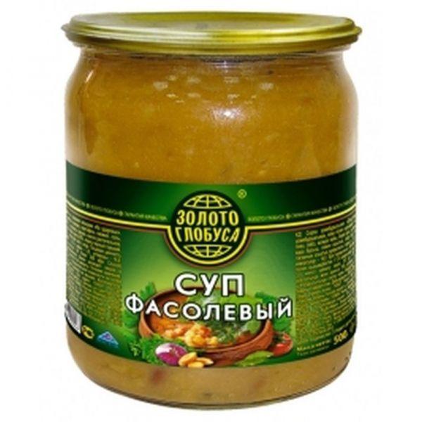 Суп Золото глобуса Фасолевый ст/б