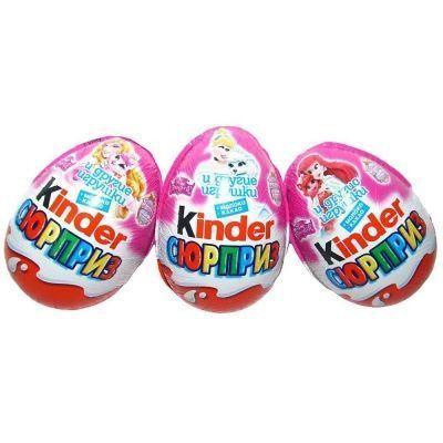Шоколадное яйцо Киндер Сюрприз Принцессы Дисней