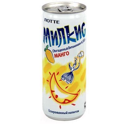 Напиток газированный Lotte Милкис Манго