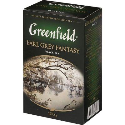 Чай Гринфилд Earl Grey Fantasy Бергамот