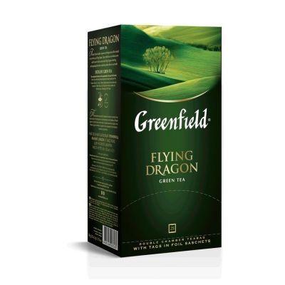 Чай Гринфилд Летящий Дракон (Flying Dragon) зеленый 25 пак.