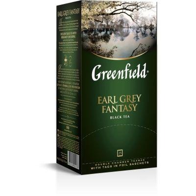 Чай Гринфилд Earl Grey fantasy Бергамот 25 пак.