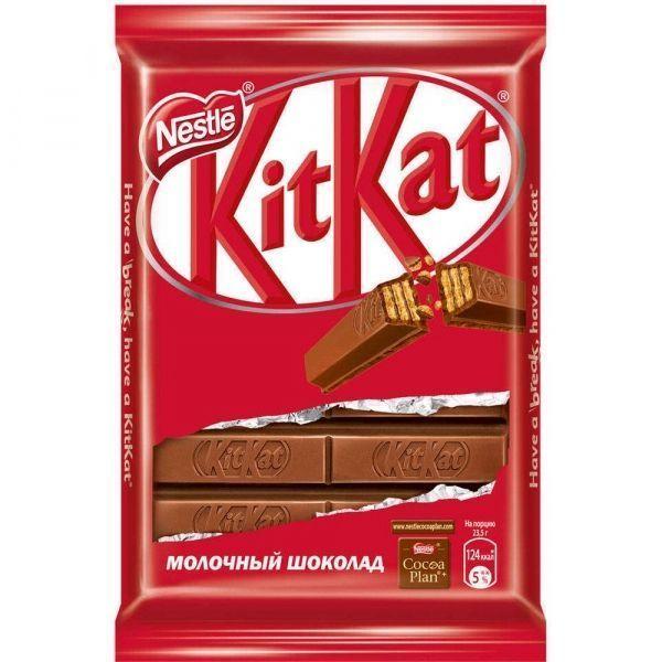 Шоколад Нестле Кит-Кат молочный