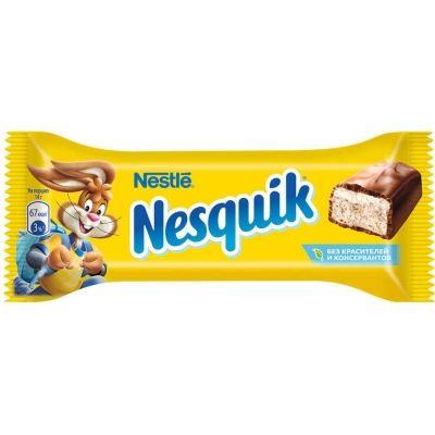 Батончик шоколадный Несквик