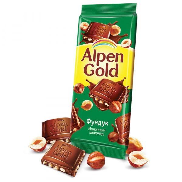 Шоколад Альпен Гольд Орех