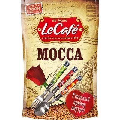 Кофе Ле Кафе Мокка с ложкой м/у