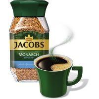 Кофе Якобс Монарх без кофеина ст/б