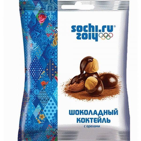 Драже Сочи 2014 Шоколадный Коктейль с Орехами