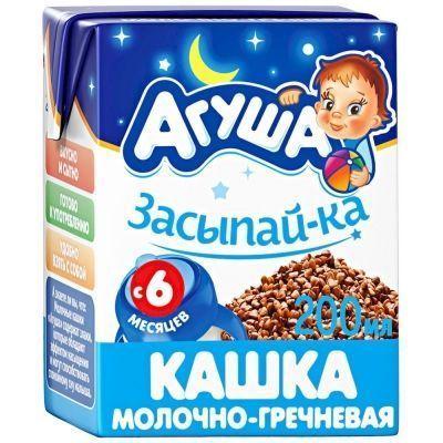 Каша молочно-гречневая 'Агуша' Засыпайка 2,5%