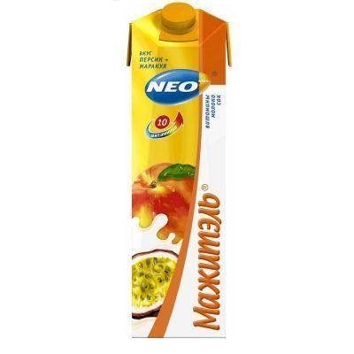 Напиток сывороточный Мажитель Neo персик, маракуйя 0,05%