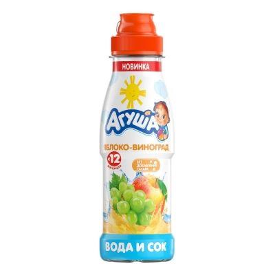 Вода и сок Агуша Яблоко-Виноград