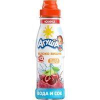 Вода и сок Агуша Яблоко-Вишня