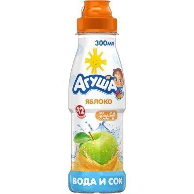 Вода и сок Агуша Яблоко