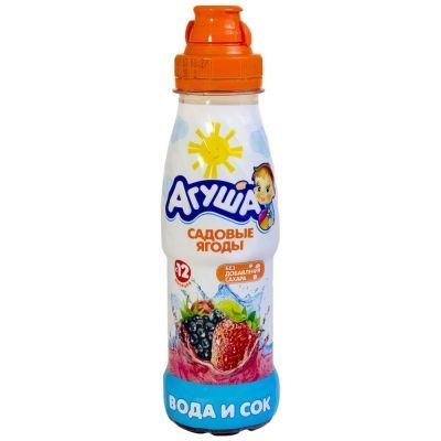 Вода и сок Агуша Ягоды садовые