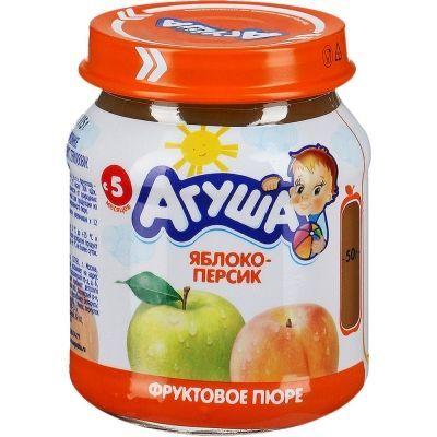 Пюре фруктовое Агуша яблоко-персик