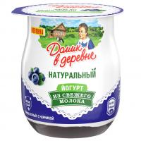 Йогурт Домик в деревне 3% термостатный черника