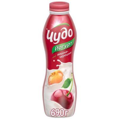 Йогурт МАКСИ 'Чудо' вишня-черешня 2,4%