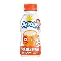 Ряженка Агуша 3,2%