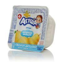 Творог Агуша груша 3,9% ванна