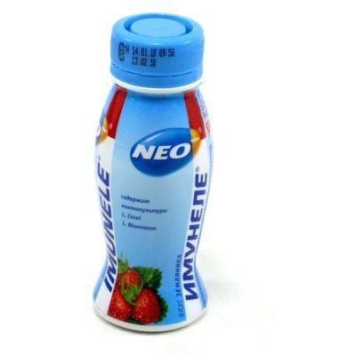 Напиток кисломолочный Имунеле 'Neo' земляника 1,2%