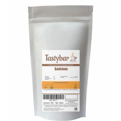 Кофе ароматизированный Tastybar Бейлис в зернах