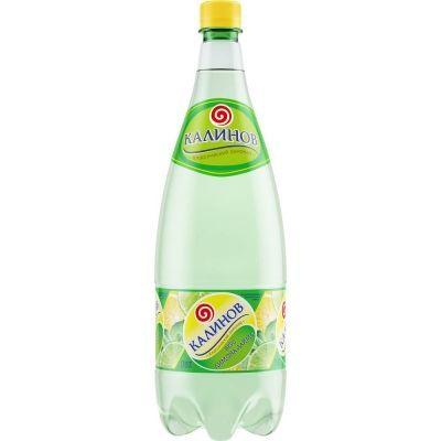Напиток 'Калинов Родник' Лимон-Лайм газированный