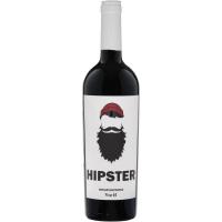 Вино виноградное Хипстер 2017 сухое красное (Hipster), 9-15 %