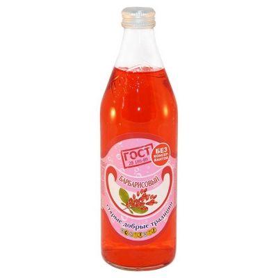 Напиток безалкогольный Традиции Бобылево Барбарис сильногазированный стекло
