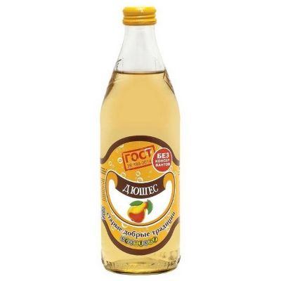 Напиток безалкогольный Традиции Бобылево Дюшес сильногазированный стекло