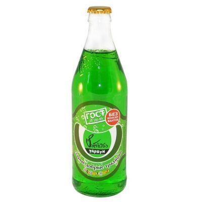 Напиток безалкогольный Традиции Бобылево Тархун сильногазированный стекло