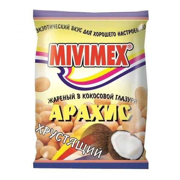 Арахис жареный Mivimex в кокосовой глазури пакет