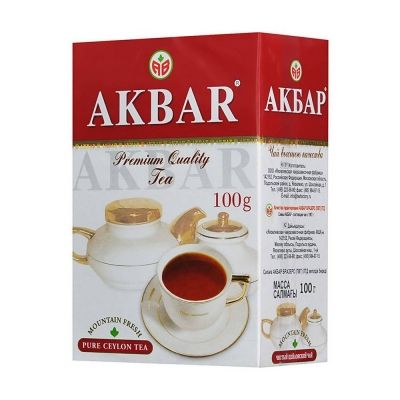 Чай 'Акбар' черный
