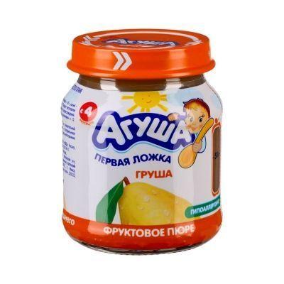 Пюре фруктовое Агуша Груша