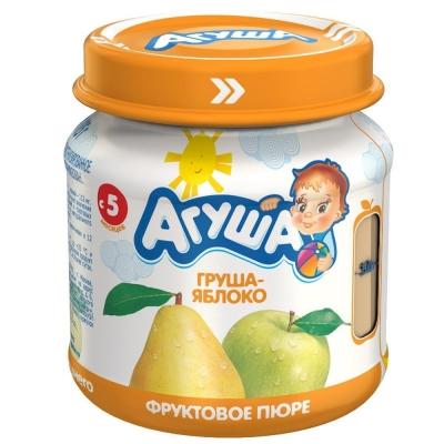 Пюре фруктовое Агуша Груша-Яблоко