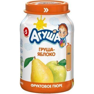 Пюре фруктовое Агуша Яблоко-Груша