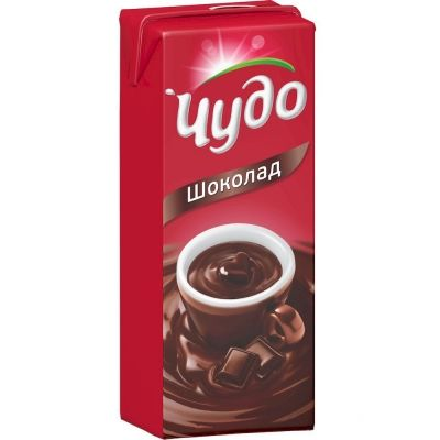 Молоко ароматизированное Чудо Шоколад 3%