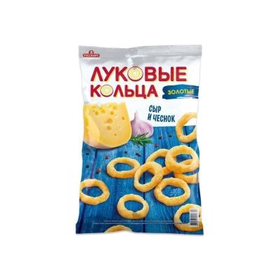 Луковые кольца 'Золотые' Сыр и чеснок