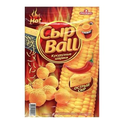 Кукурузные шарики СырBall Острый сыр