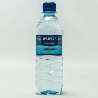 Вода родниковая питьевая Апаран Лусахпюр