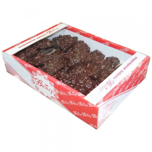 Печенье С изюмом и орехами Микс в шоколадной глазури