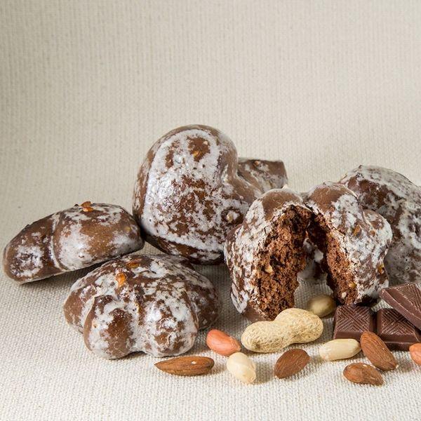 Пряники Шоколадно ореховое асорти