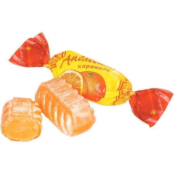 Карамель Апельсиновая