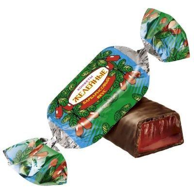 Конфеты Желейные вкус барбарис