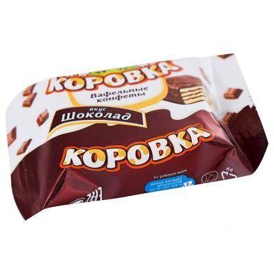 Конфеты Коровка вкус Шоколад