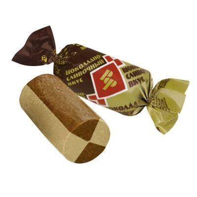 Конфеты РотФронт батончики шоколадно-сливочный вкус