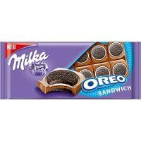 Шоколад Милка Орео сендвич плитка