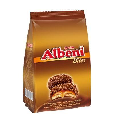 Печенье Албени Бэтис с карамелью в молочном шоколаде