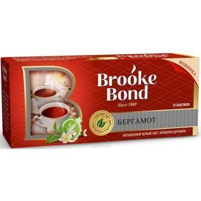 Чай Брук Бонд черный бергамот 25 пак.