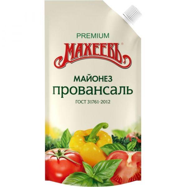Майонез Махеевъ Провансаль классический 67% дой-пак
