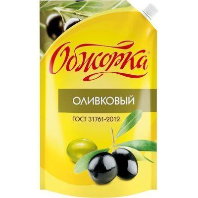 Соус майонезный Обжорка Оливковый 25% дой-пак